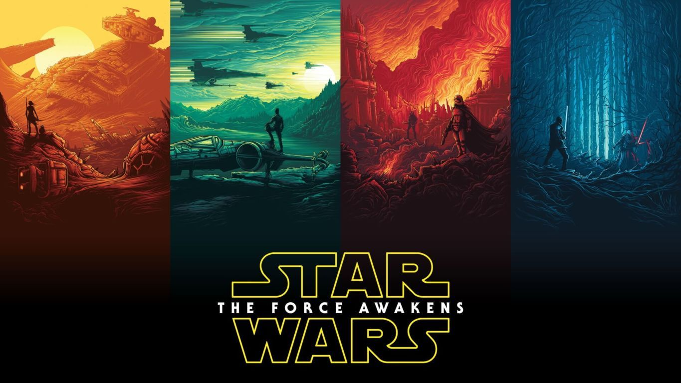 Star Wars Episode VII The Force Awakens Wallpaper 089