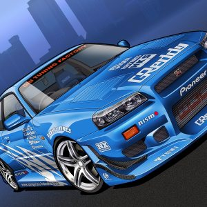 Tuning Cars Wallpaper 097 300x300