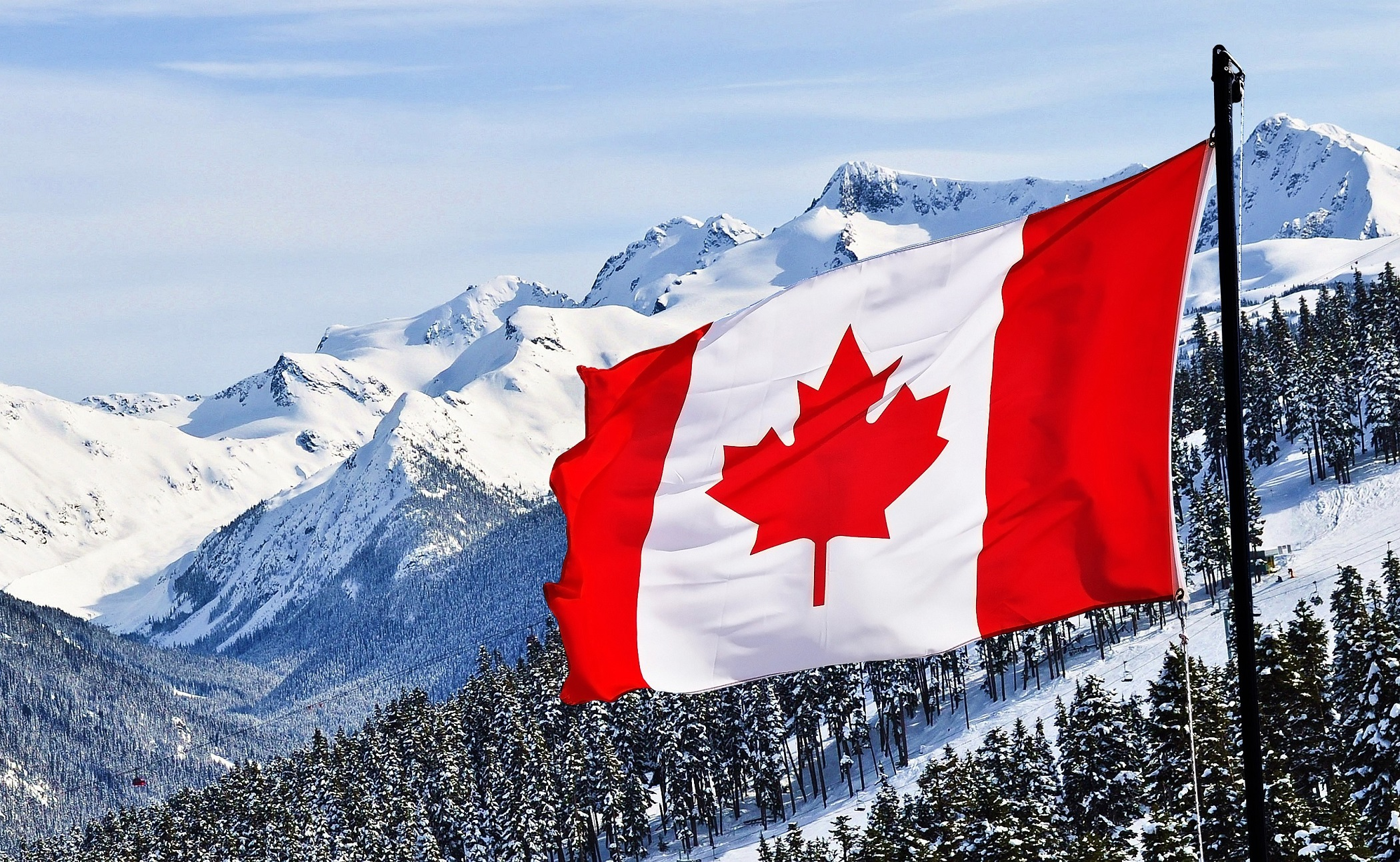 Canada Flag Wallpaper 11