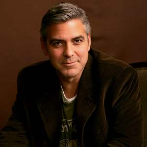 NY: Portrait Of George Clooney
