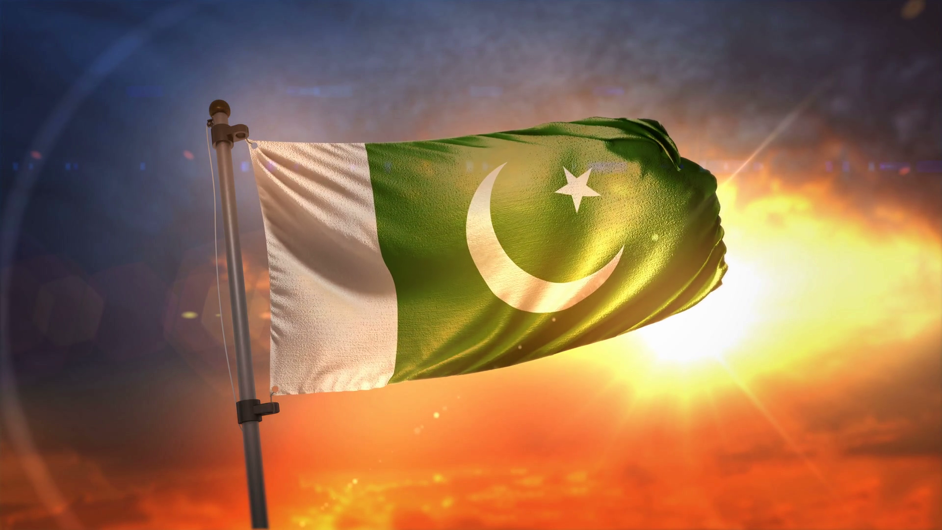 Pakistan Flag Wallpaper 11