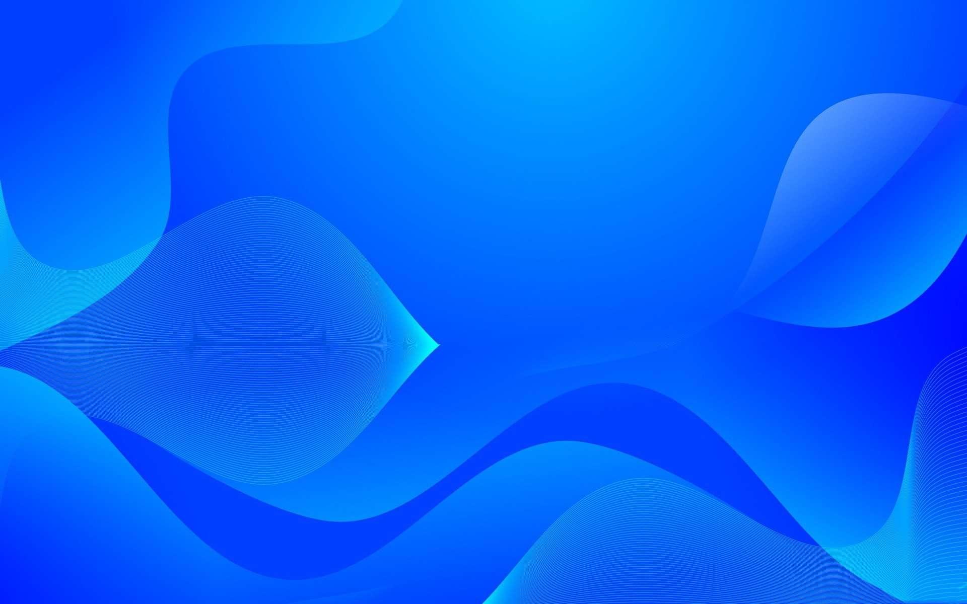 Blue Wallpaper 047