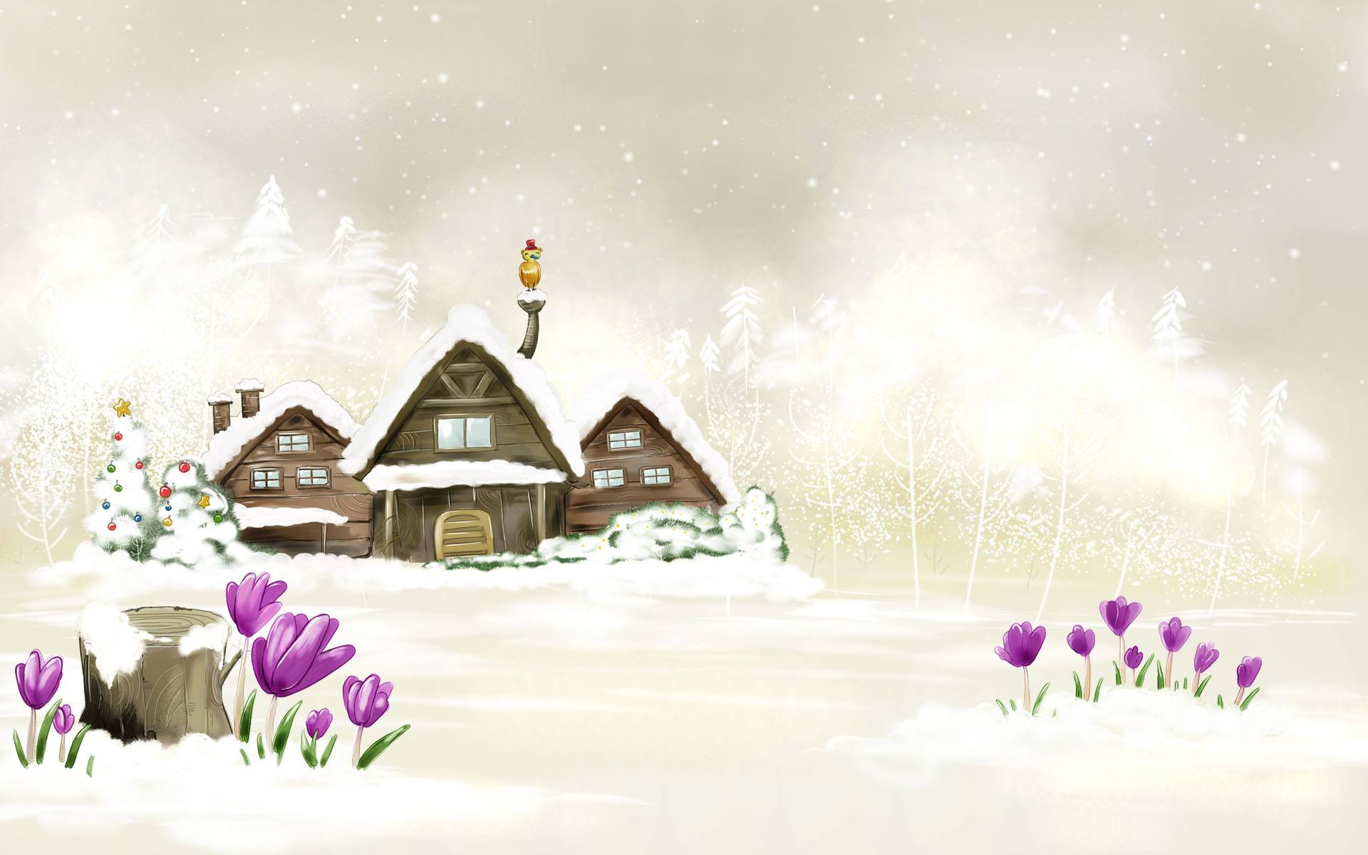 Christmas Winter Wallpaper 027