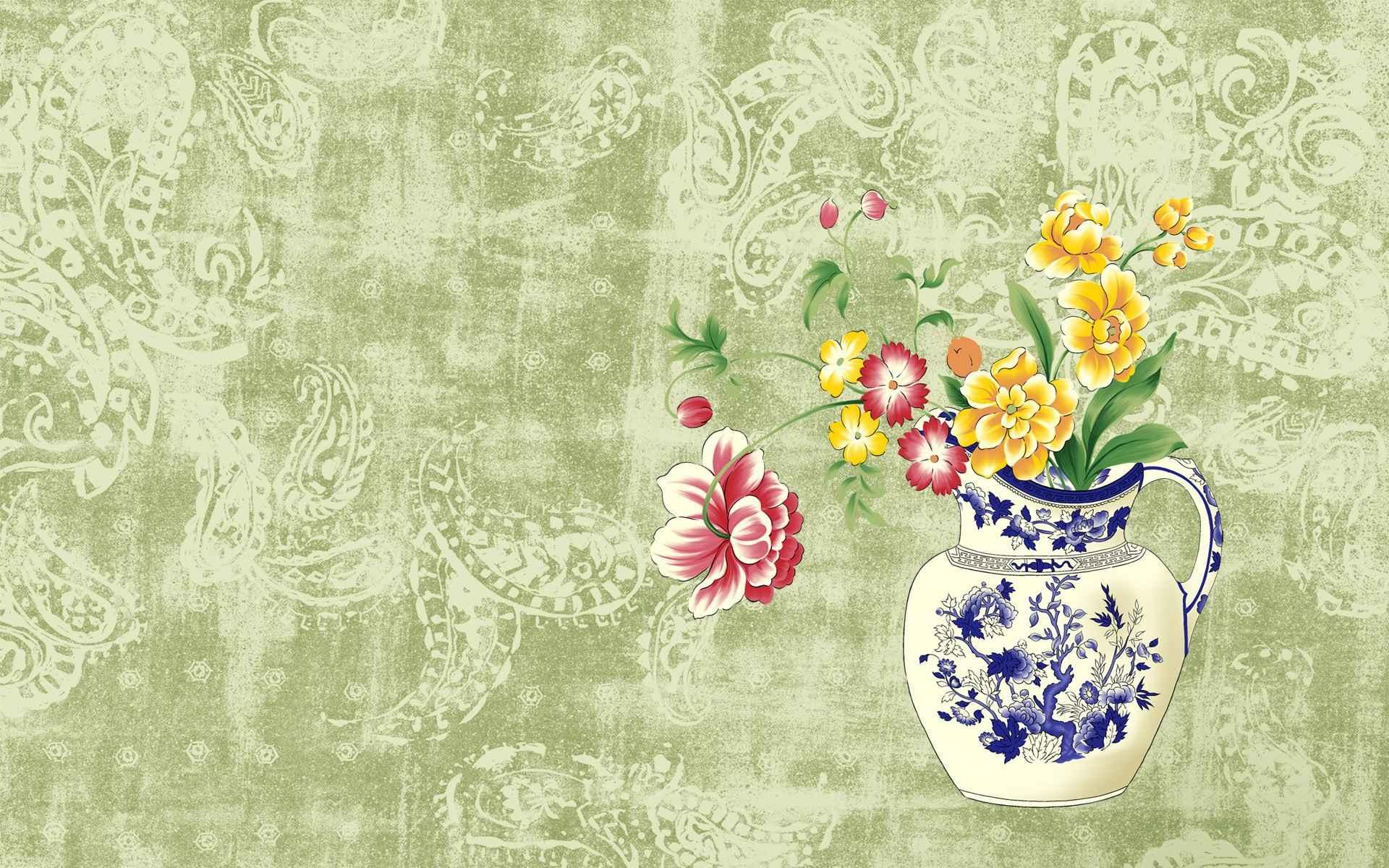 Floral Wallpaper 028