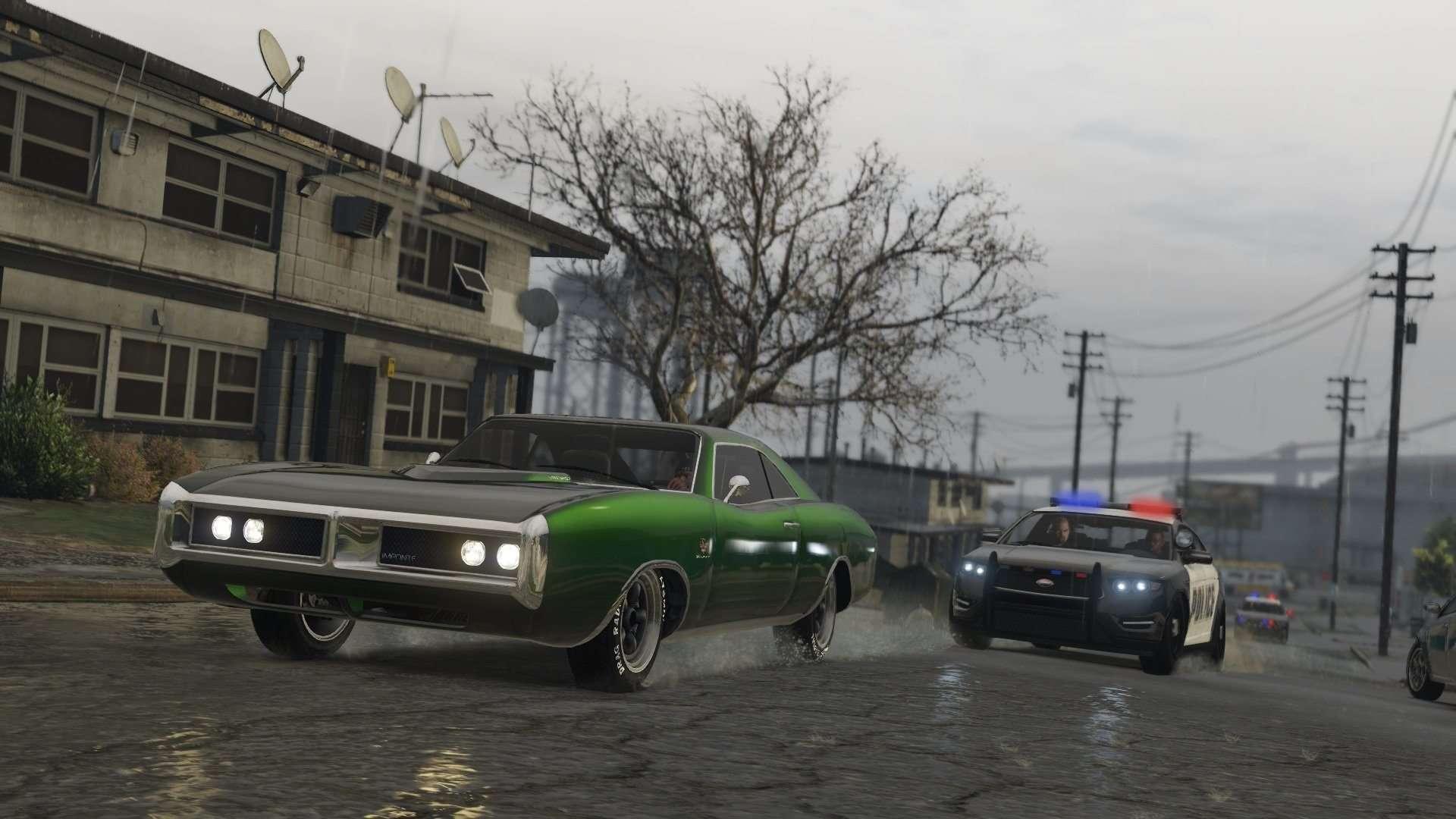 Game Grand Theft Auto V Wallpaper 040