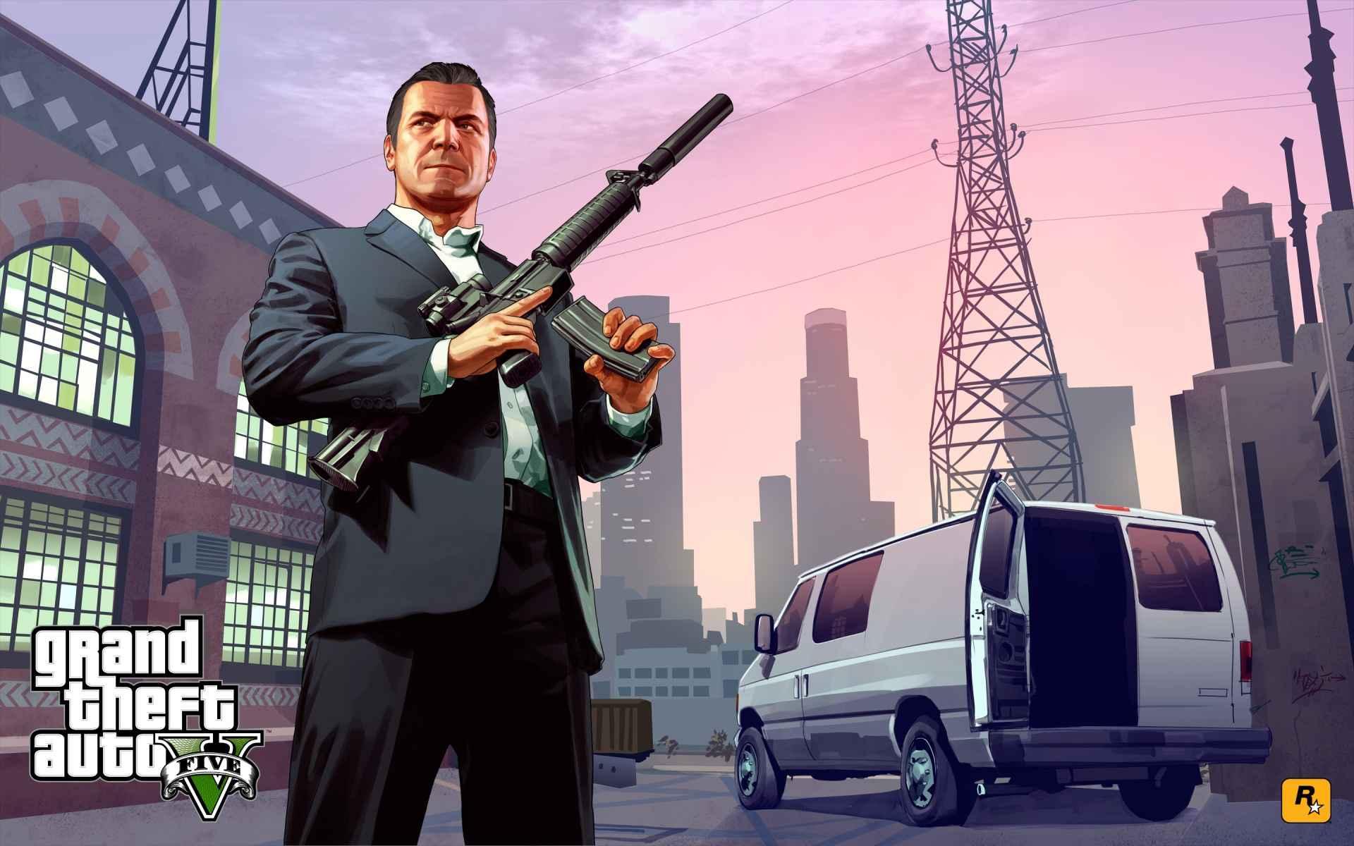 Game Grand Theft Auto V Wallpaper 053