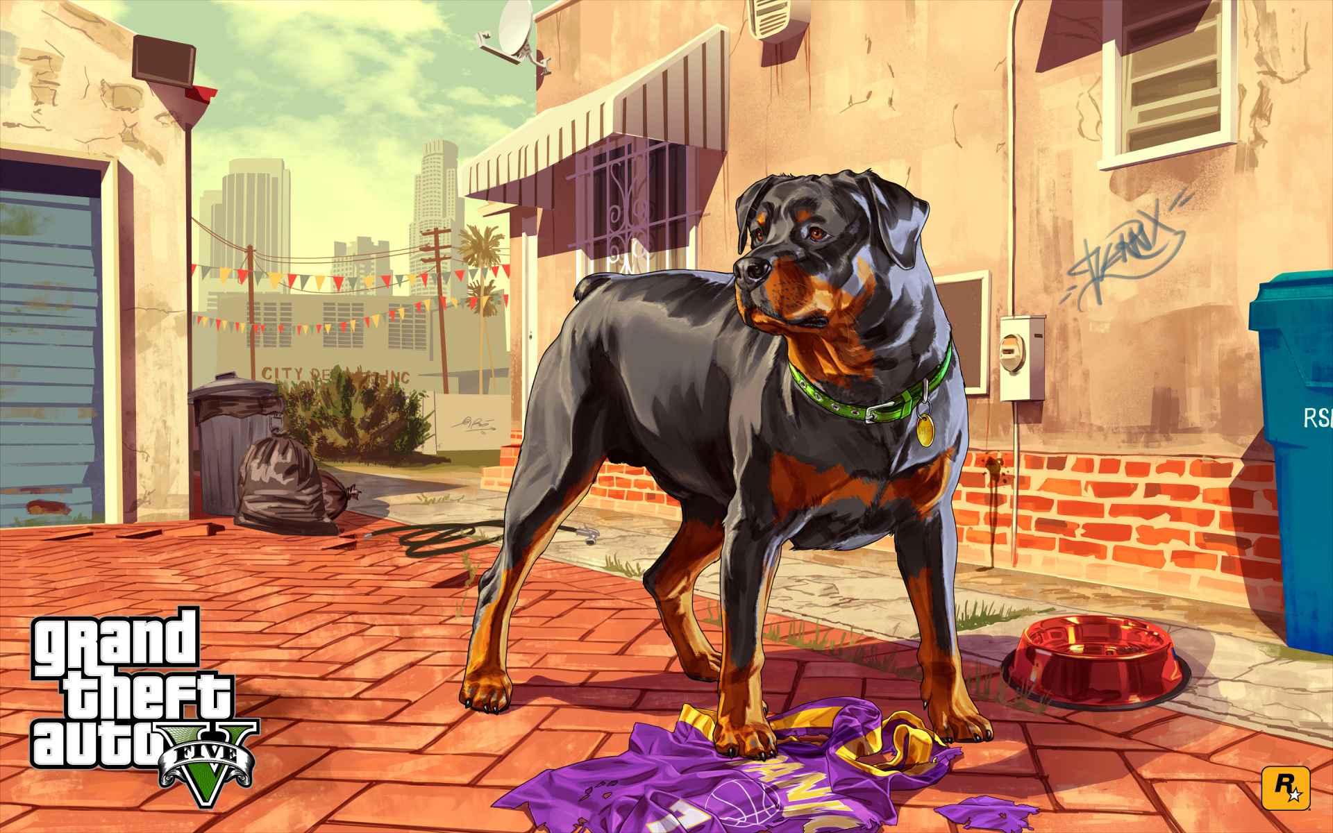 Game Grand Theft Auto V Wallpaper 054
