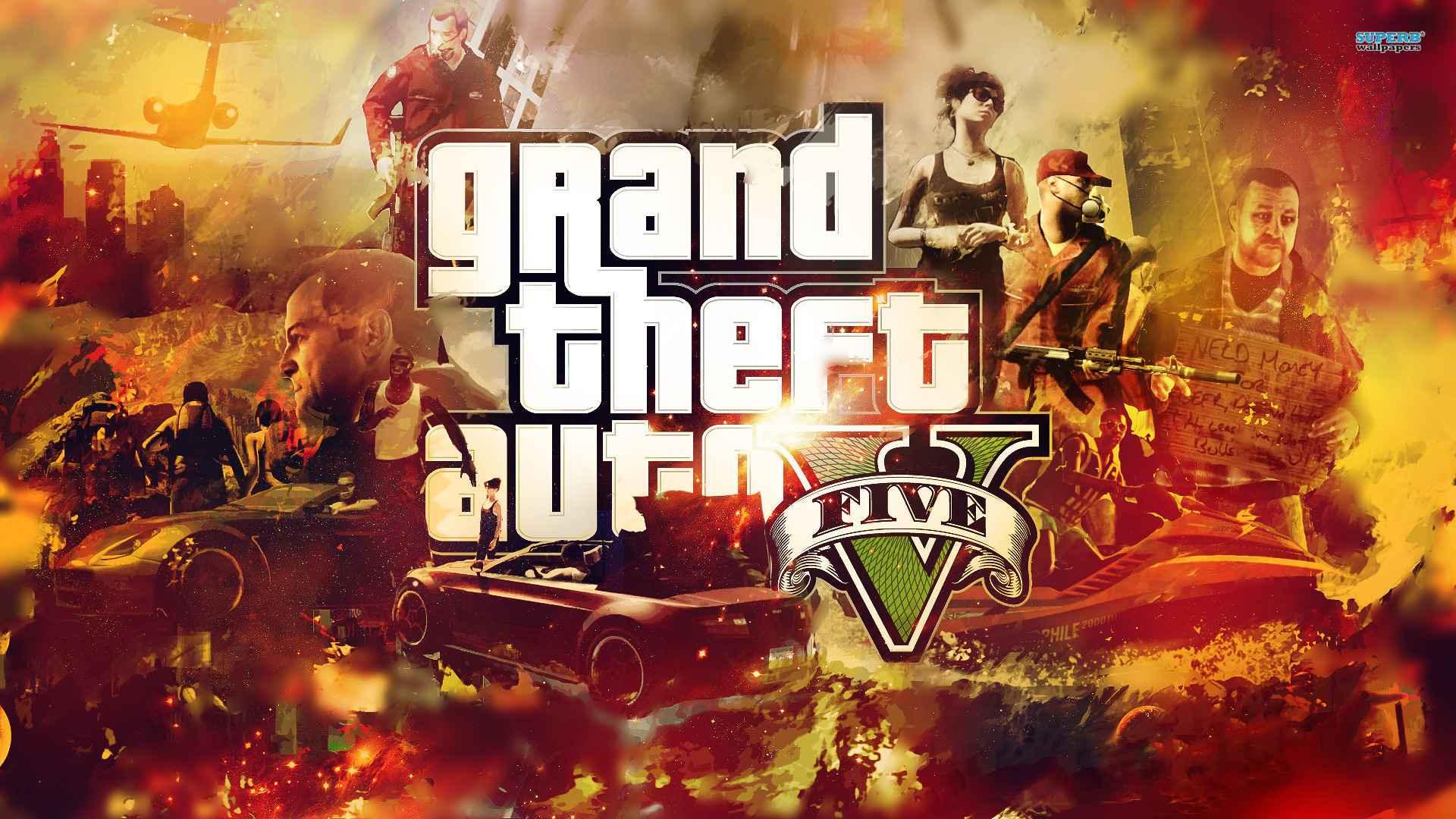 Game Grand Theft Auto V Wallpaper 057