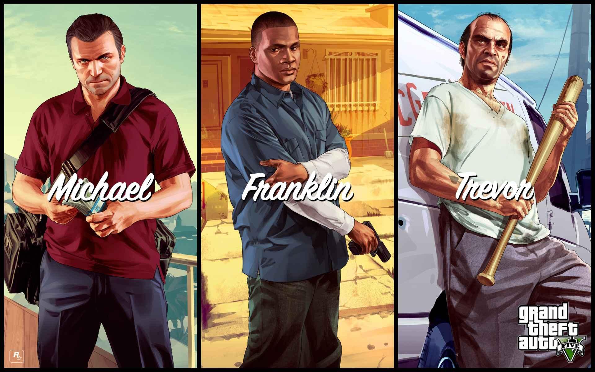Game Grand Theft Auto V Wallpaper 065