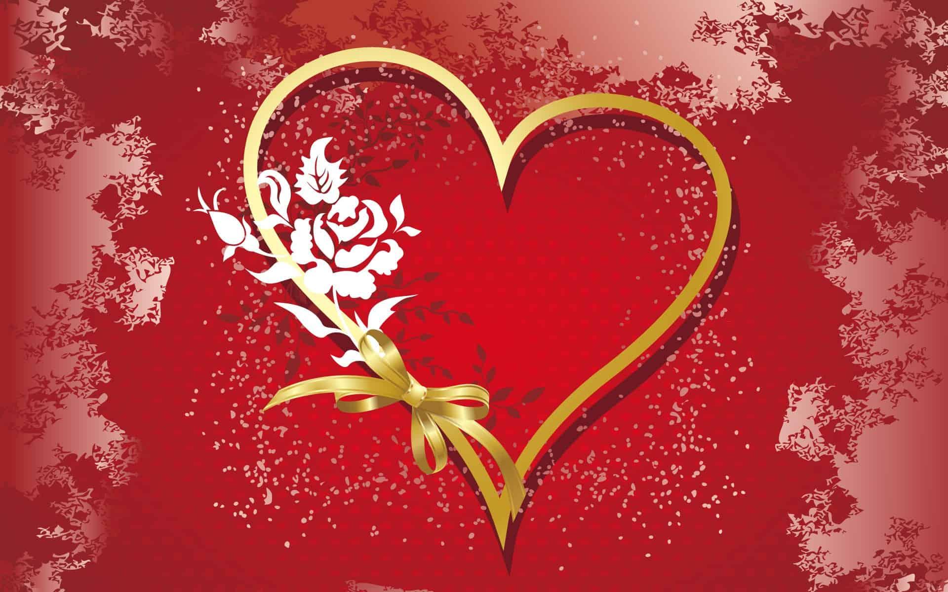 Hearth Love Vector Wallpaper 024