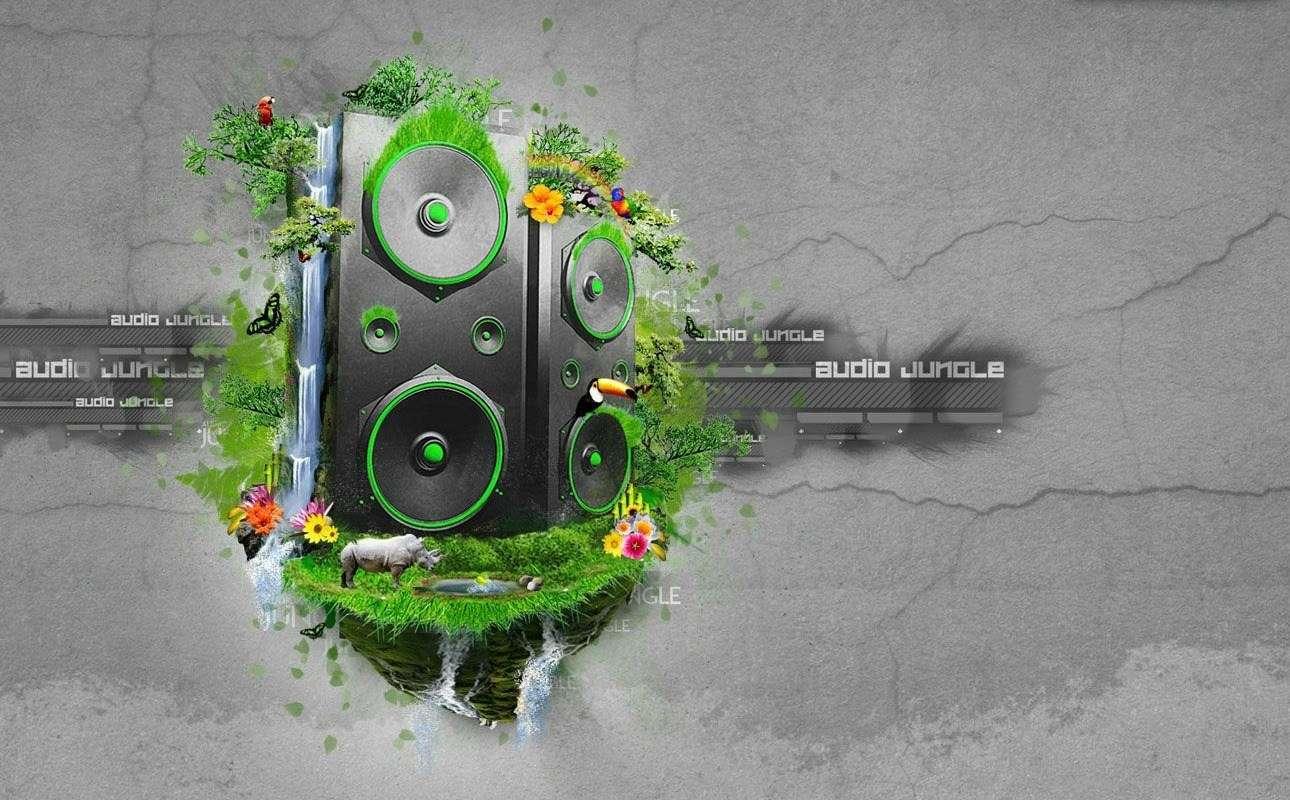 Music Background Wallpaper 034