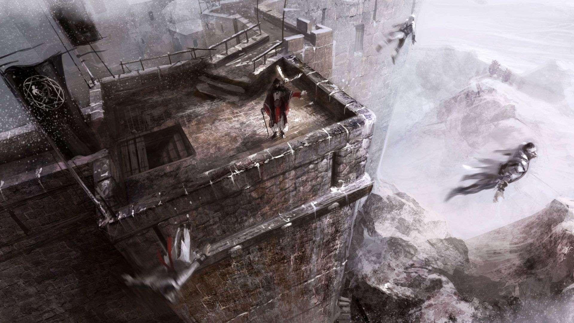 Assain Creed Video Game Wallpaper 013