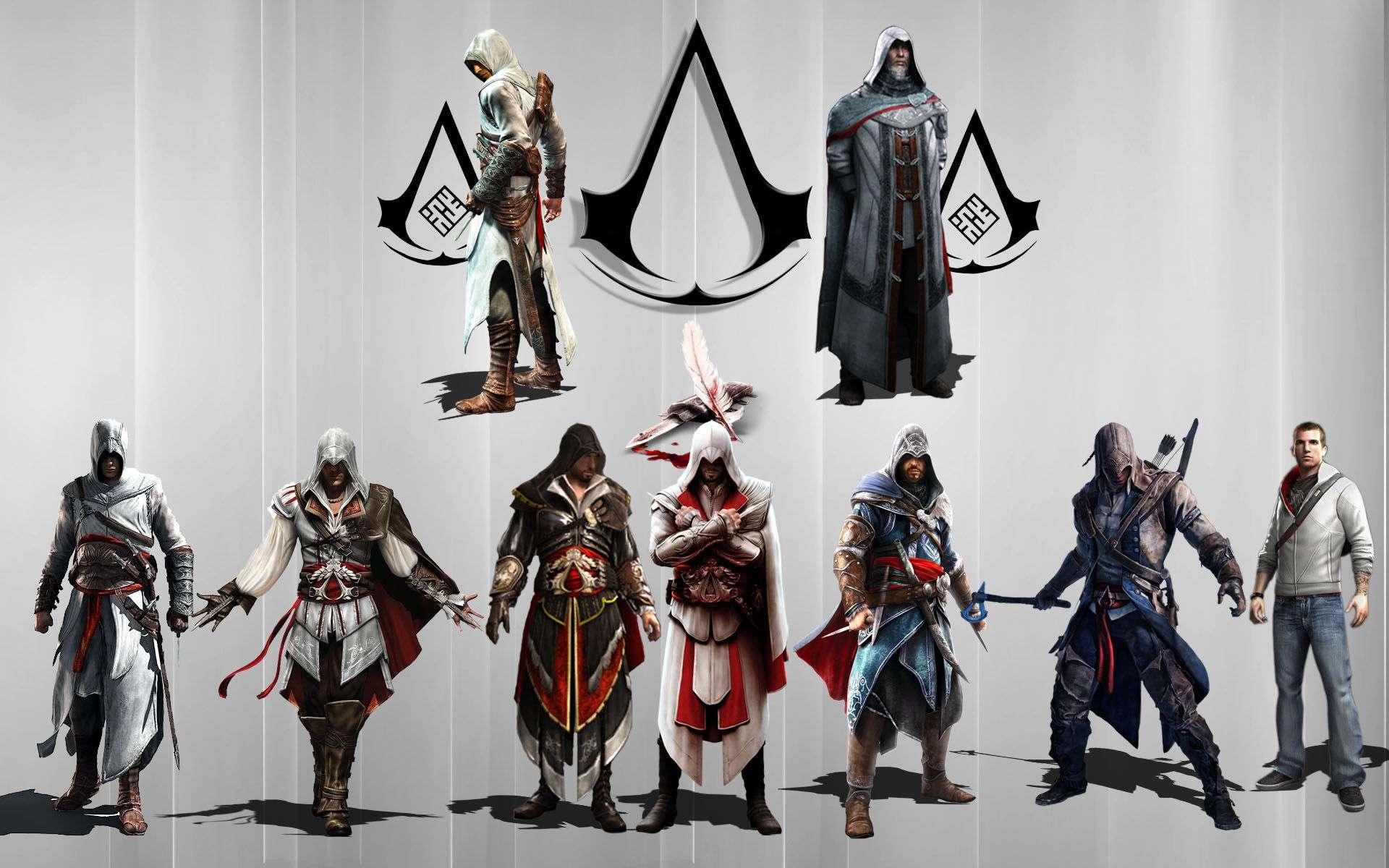 Assain Creed Video Game Wallpaper 036