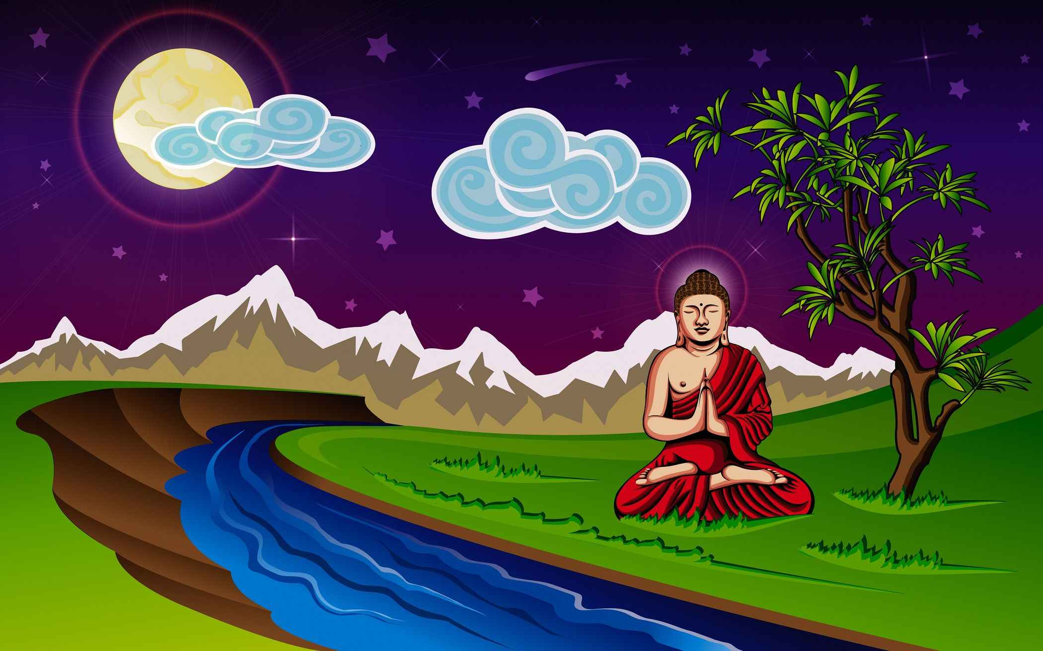 Buddhism Wallpaper 048
