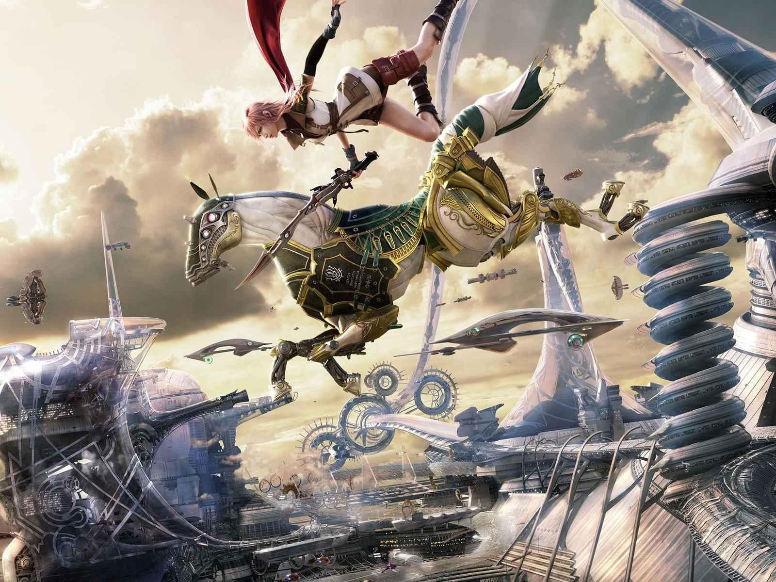 Final Fantasy Video Game Wallpaper 006