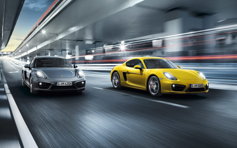 Porsche Cayman Wallpaper 4