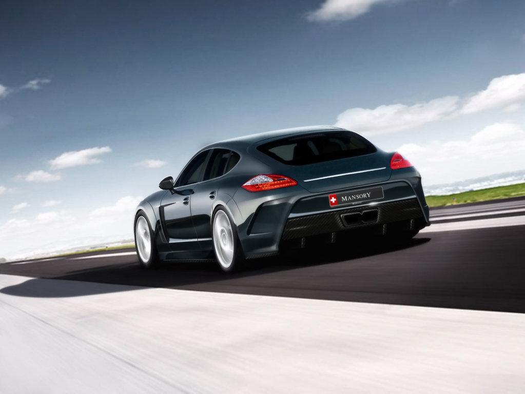 Porsche Panamera Wallpaper 3