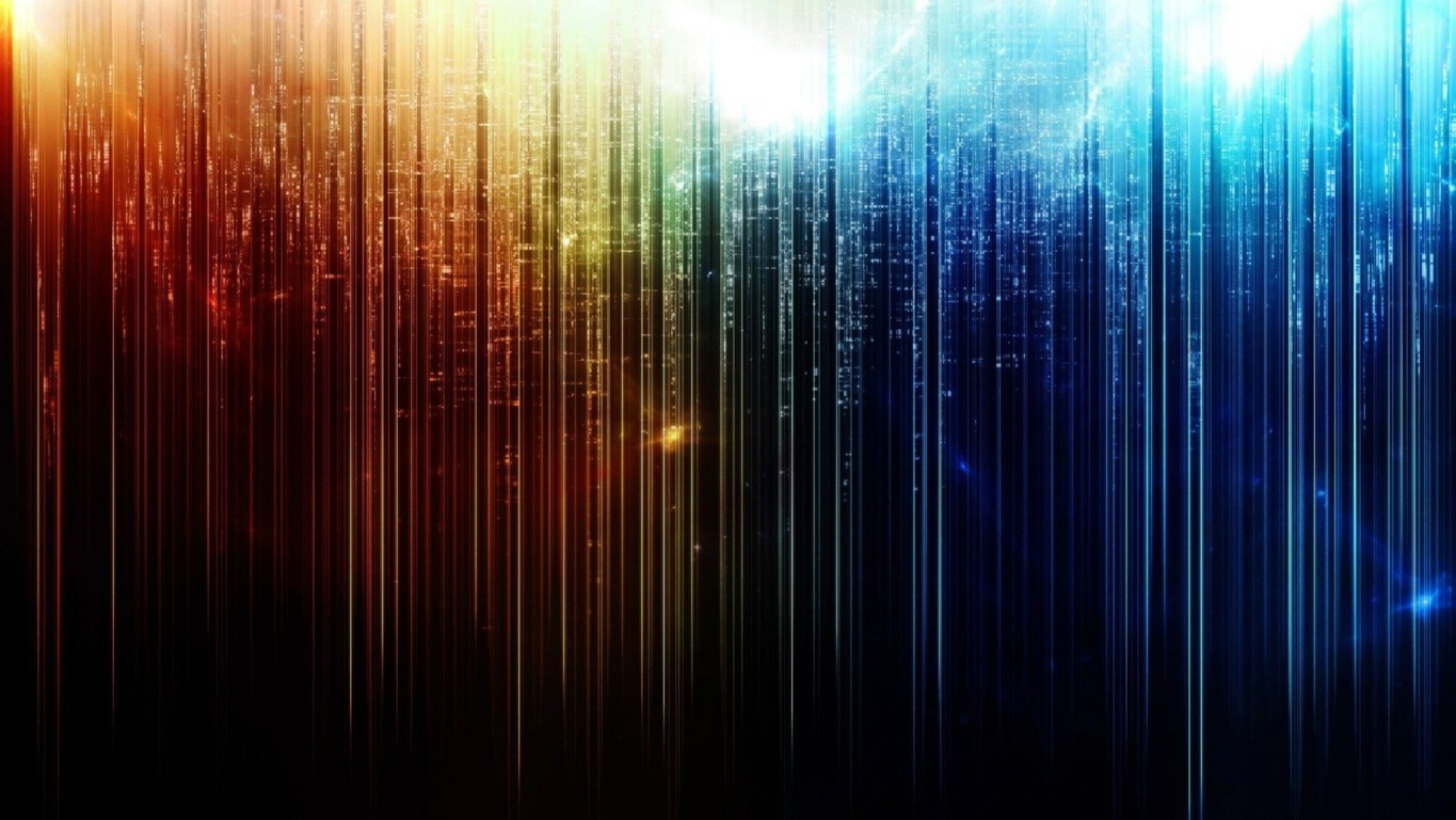 Abstract Colours Wallpaper 2
