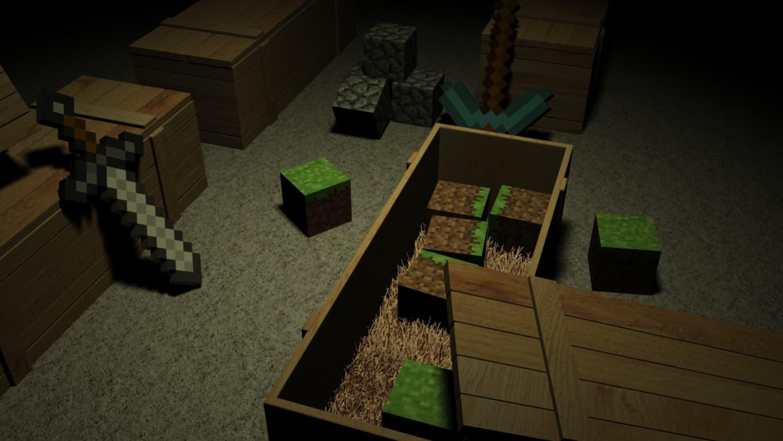 MineCraft Video Game Wallpaper 22