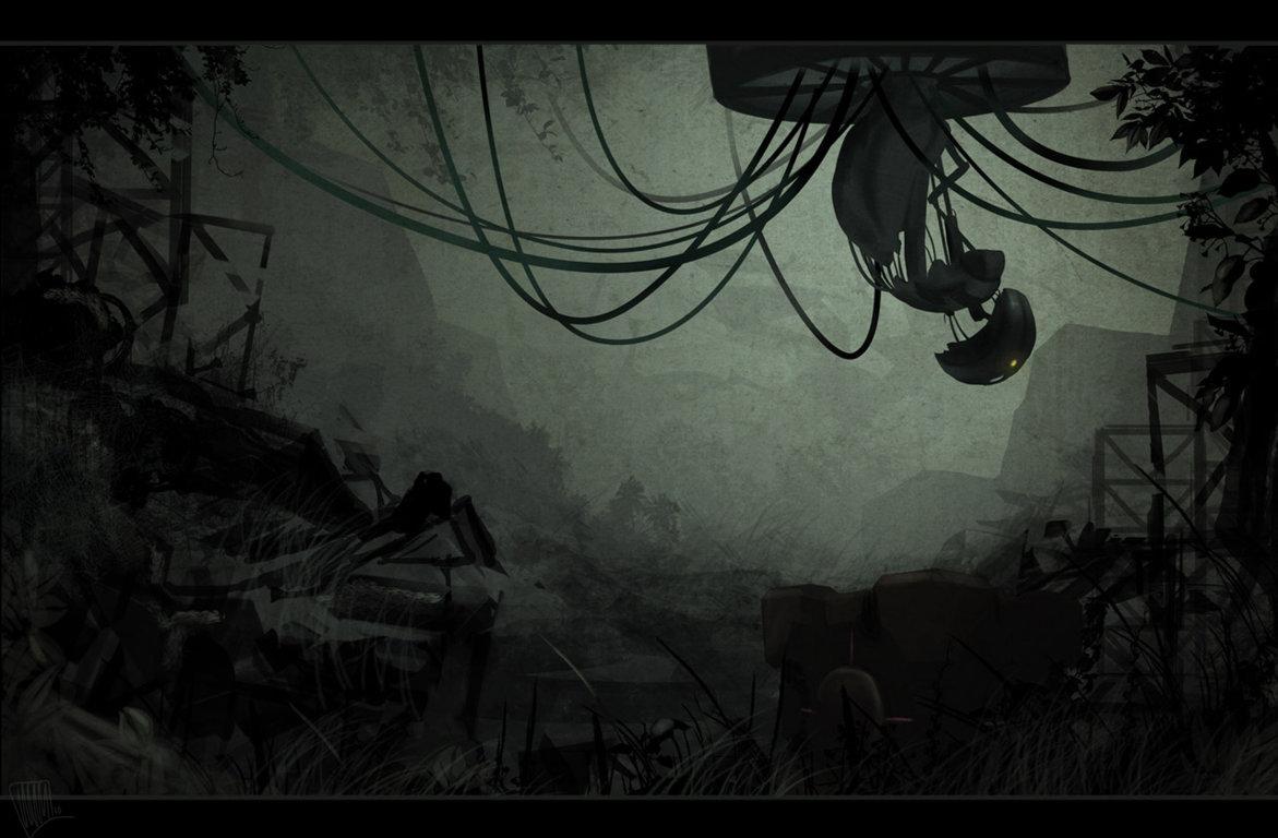 Portal Video Game Wallpaper 1