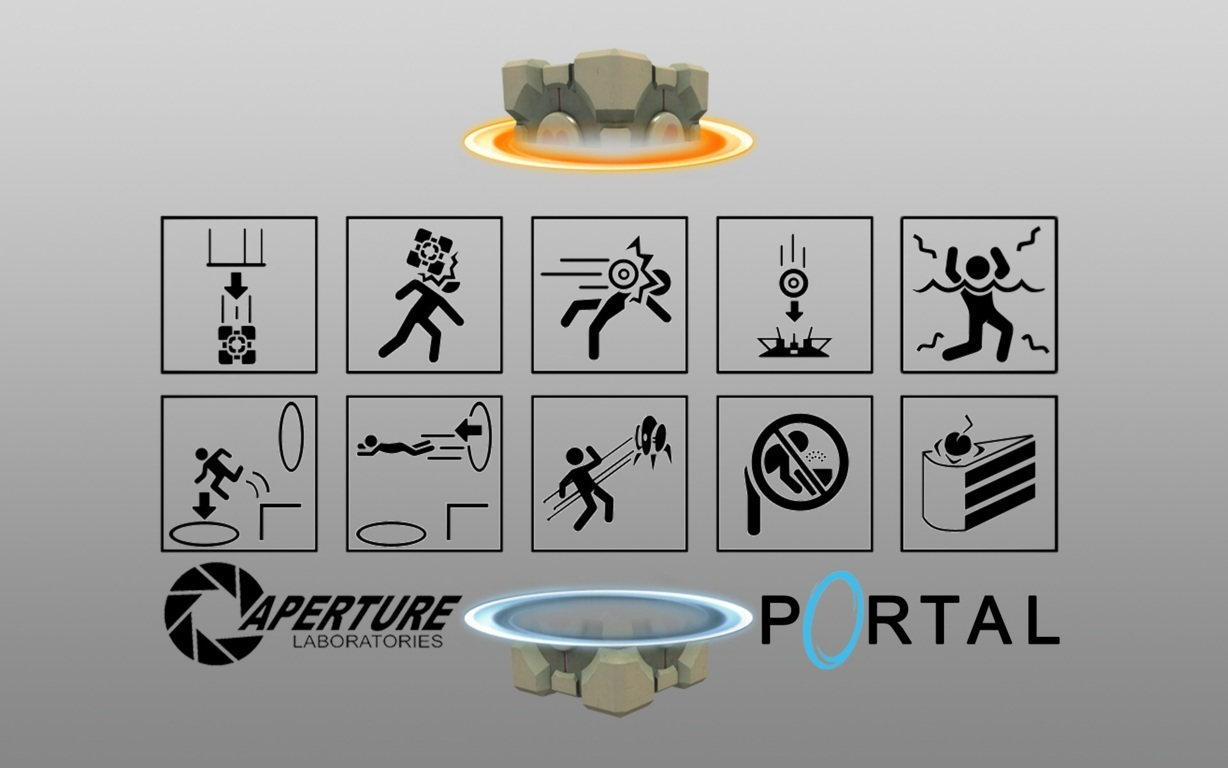 Portal Video Game Wallpaper 16