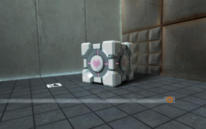 Portal Video Game Wallpaper 22