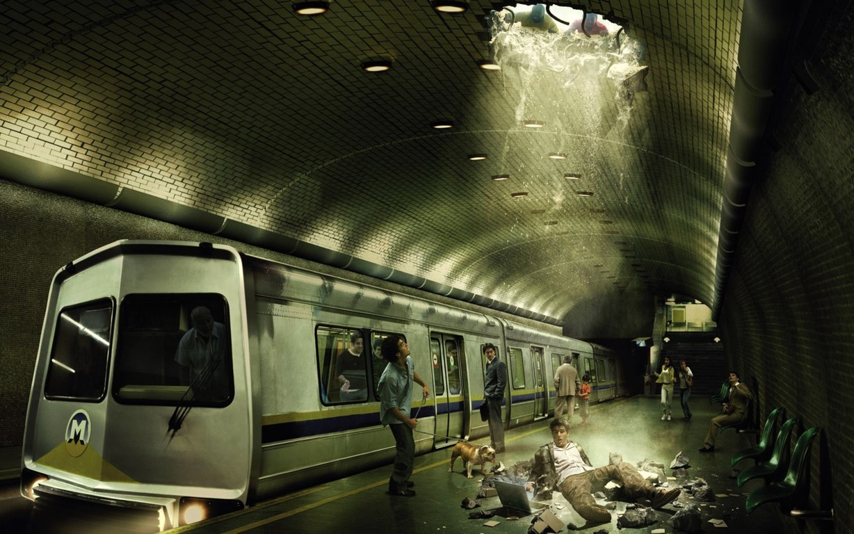 Subway Wallpaper 9
