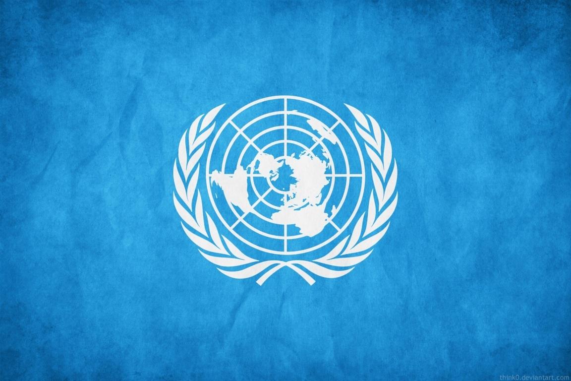 UN United Nations Logo Wallpaper