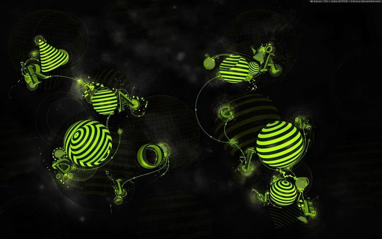 3D Abstract CGI Wallpaper 054