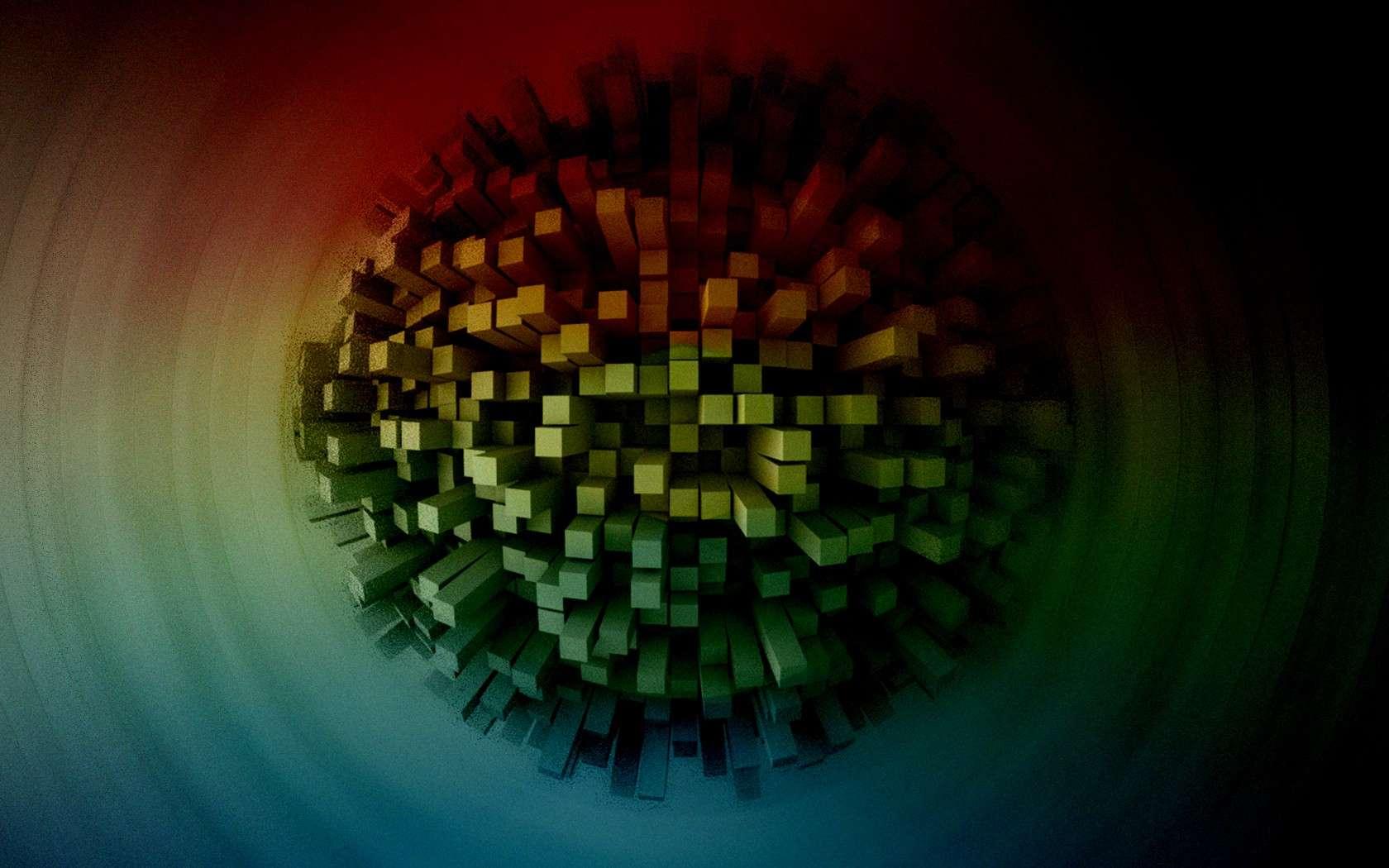 3D Abstract CGI Wallpaper 140