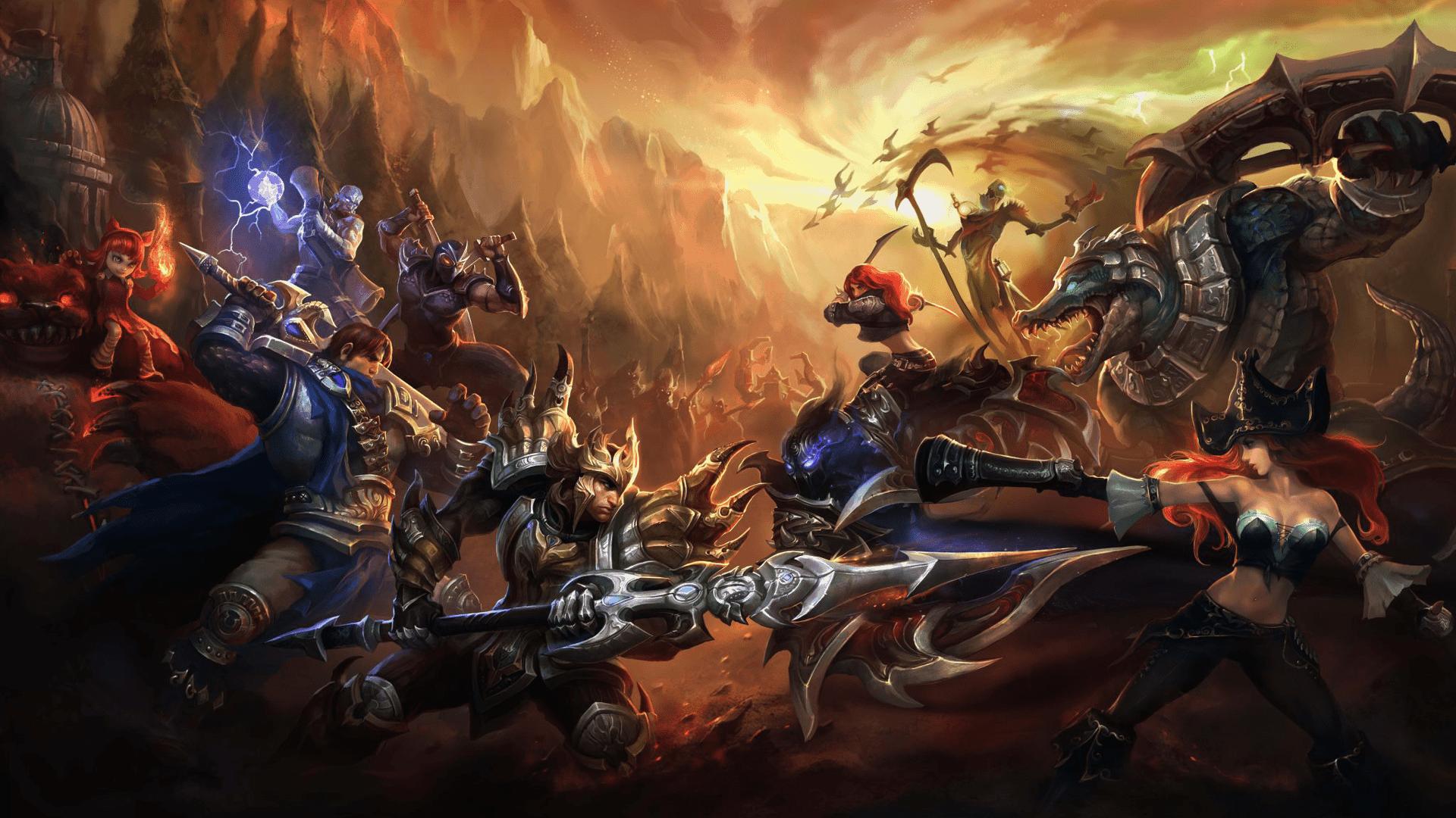 League of Legends Wallpaper 001
